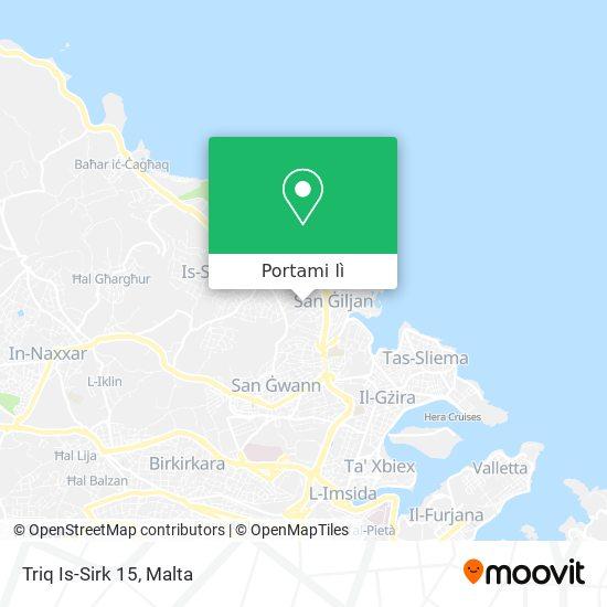 Mappa Triq Is-Sirk 15