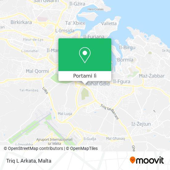 Mappa Triq L Arkata