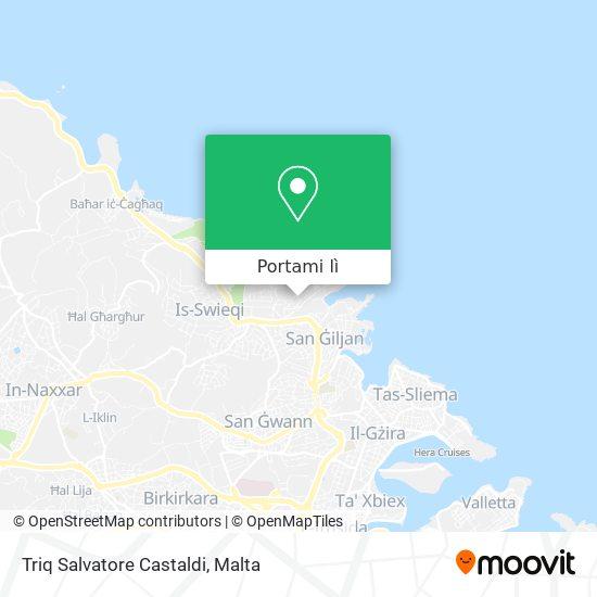 Mappa Triq Salvatore Castaldi