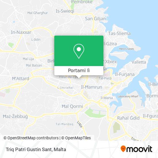 Mappa Triq Patri Gustin Sant
