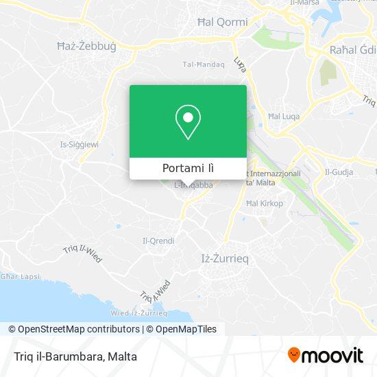 Mappa Triq il-Barumbara
