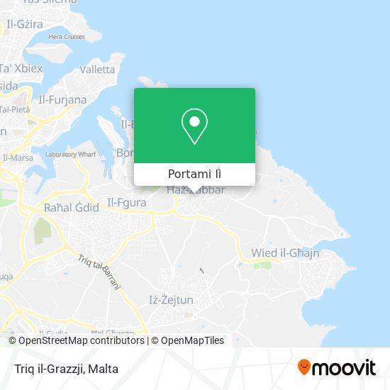 Mappa Triq il-Grazzji