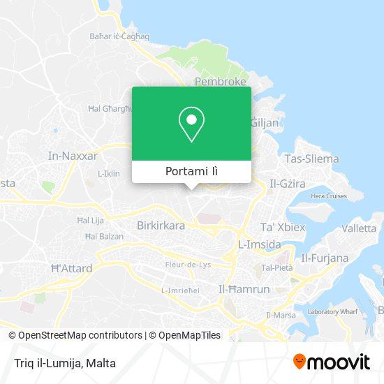 Mappa Triq il-Lumija