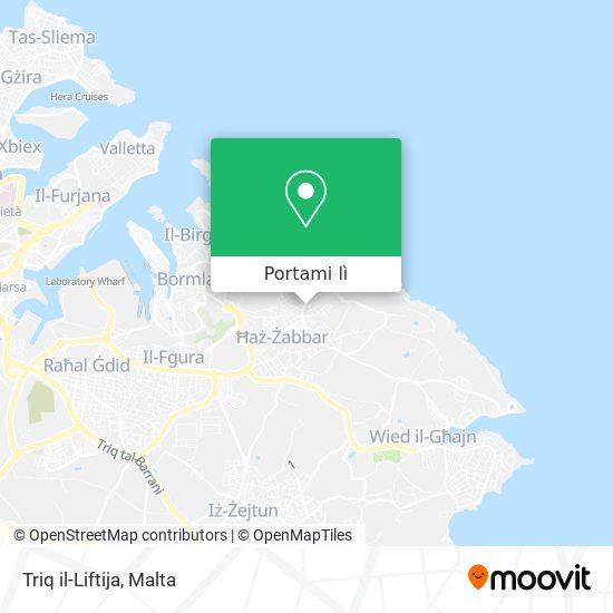 Mappa Triq il-Liftija