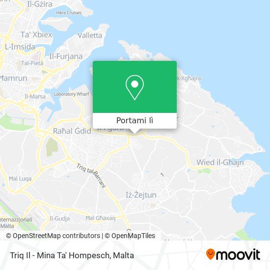 Mappa Triq Il - Mina Ta' Hompesch