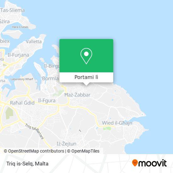 Mappa Triq is-Selq