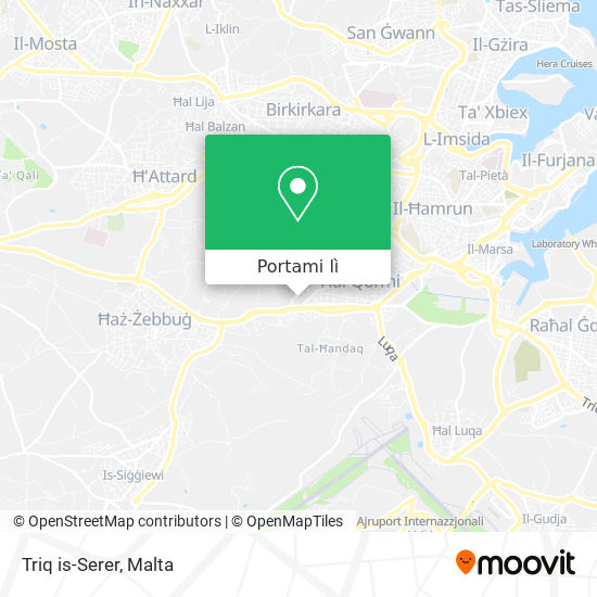Mappa Triq is-Serer