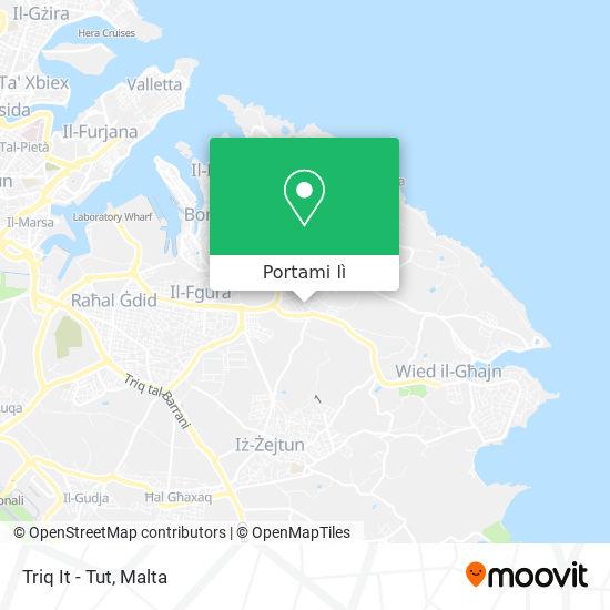 Mappa Triq It - Tut