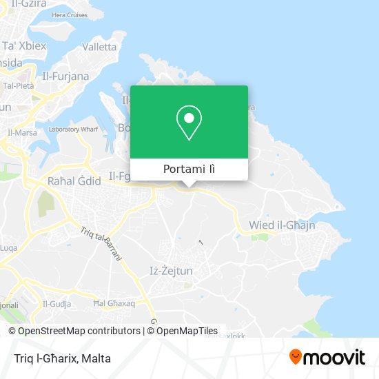 Mappa Triq l-Għarix