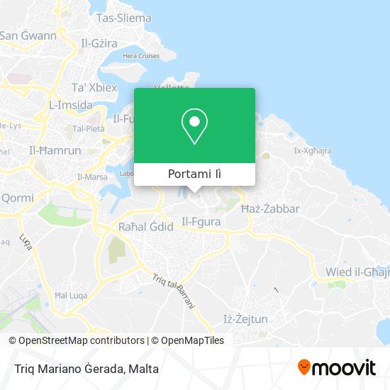 Mappa Triq Mariano Ġerada