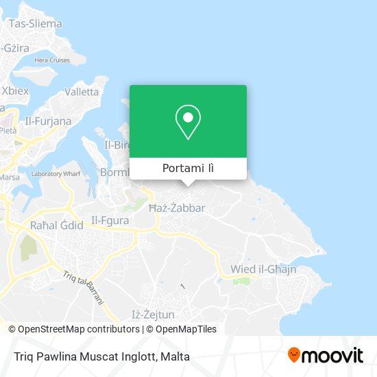 Mappa Triq Pawlina Muscat Inglott