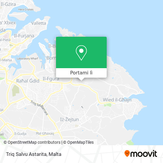 Mappa Triq Salvu Astarita