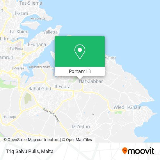 Mappa Triq Salvu Pulis