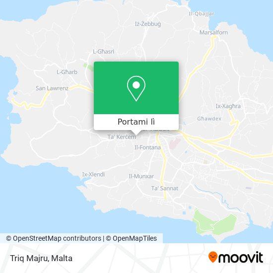 Mappa Triq Majru