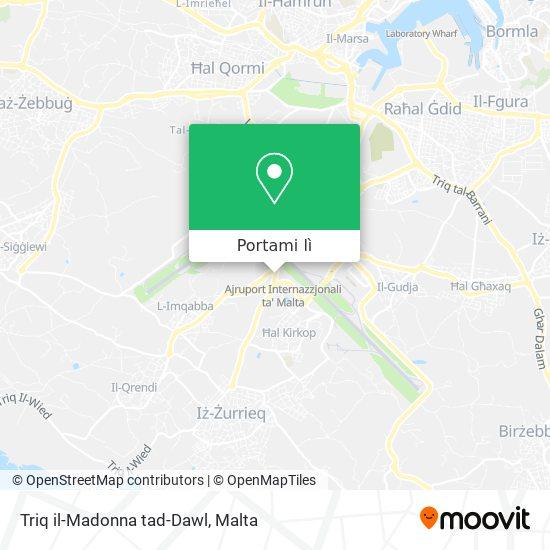 Mappa Triq il-Madonna tad-Dawl