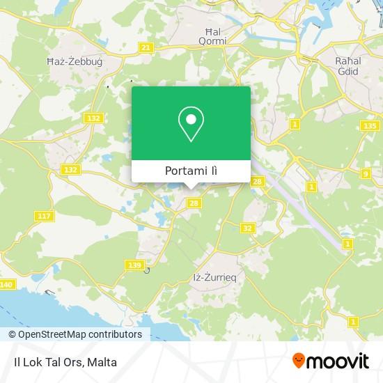 Mappa Il Lok Tal Ors