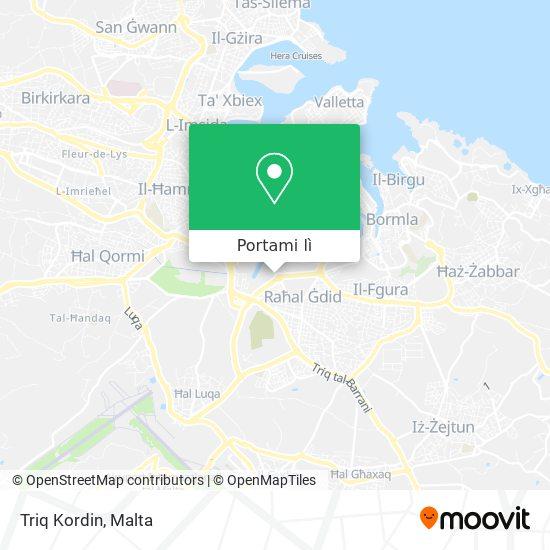 Mappa Triq Kordin