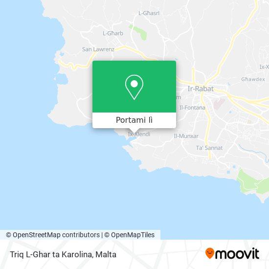 Mappa Triq L-Ghar ta Karolina