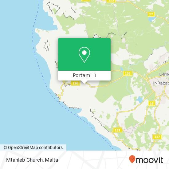 Mappa Mtahleb Church