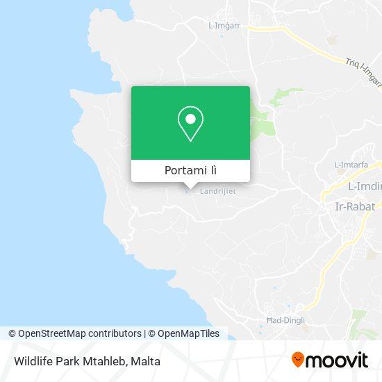Mappa Wildlife Park Mtahleb
