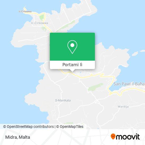 Mappa Midra
