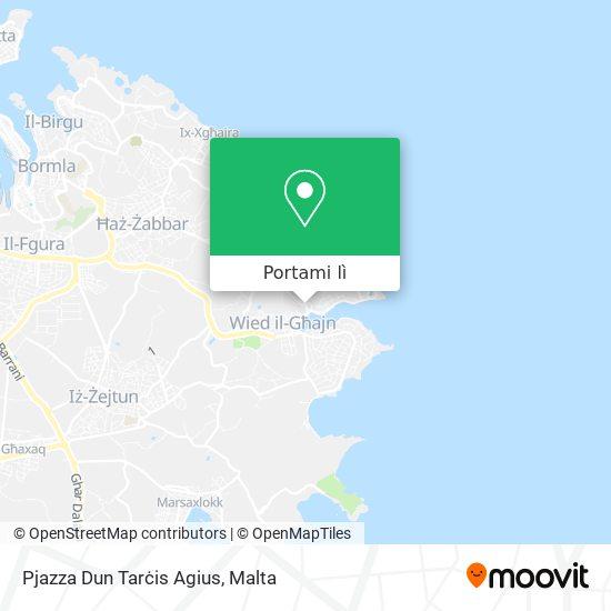 Mappa Pjazza Dun Tarċis Agius