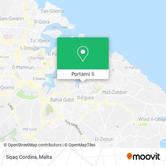 Mappa Sqaq Cordina