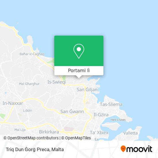 Mappa Triq Dun Ġorġ Preca