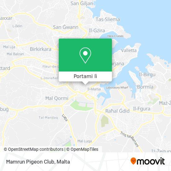 Mappa Ħamrun Pigeon Club