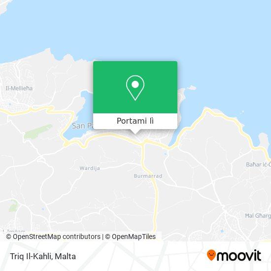 Mappa Triq Il-Kahli