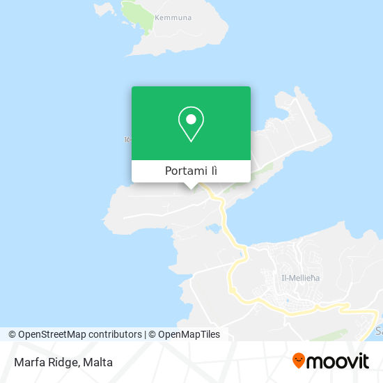 Mappa Marfa Ridge