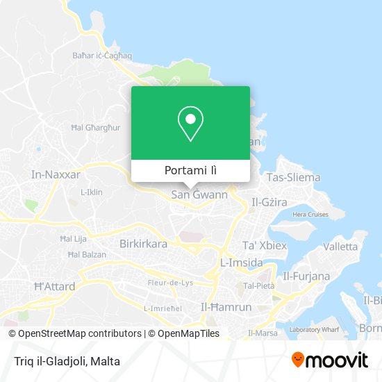 Mappa Triq il-Gladjoli