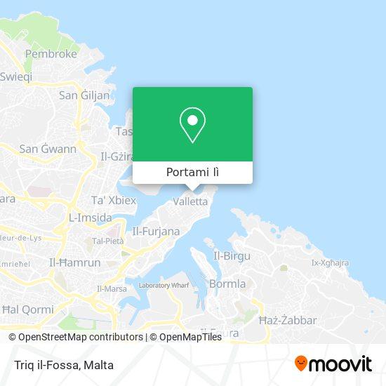 Mappa Triq il-Fossa