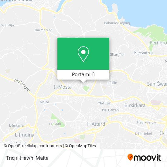 Mappa Triq il-Ħawħ