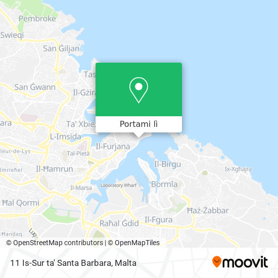 Mappa 11 Is-Sur ta' Santa Barbara