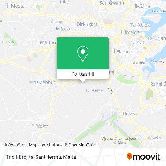 Mappa Triq l-Eroj ta' Sant' Iermu