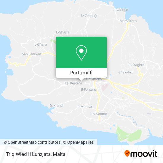 Mappa Triq Wied Il Lunzjata