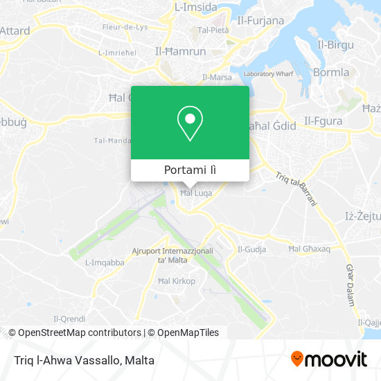 Mappa Triq l-Ahwa Vassallo