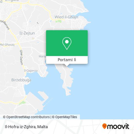 Mappa Il-Hofra iz-Zghira