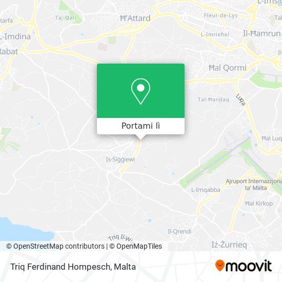 Mappa Triq Ferdinand Hompesch
