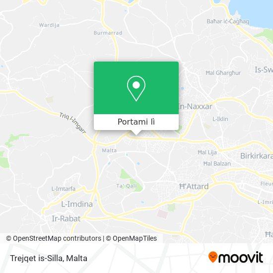 Mappa Trejqet is-Silla
