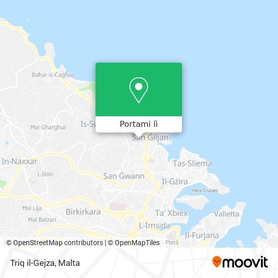 Mappa Triq il-Gejza