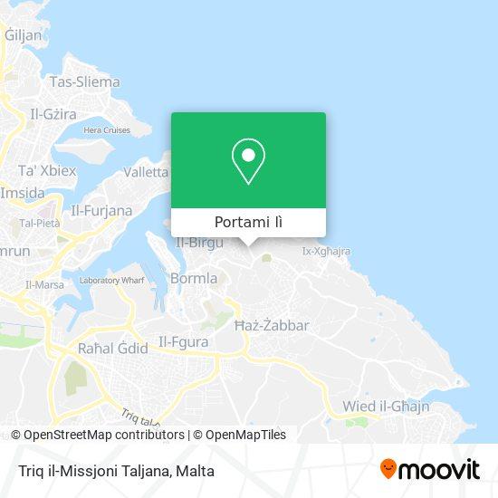 Mappa Triq il-Missjoni Taljana
