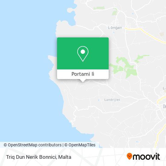 Mappa Triq Dun Nerik Bonnici