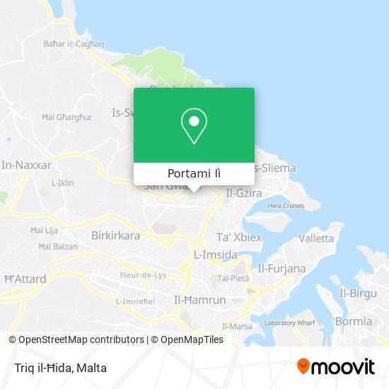 Mappa Triq il-Ħida