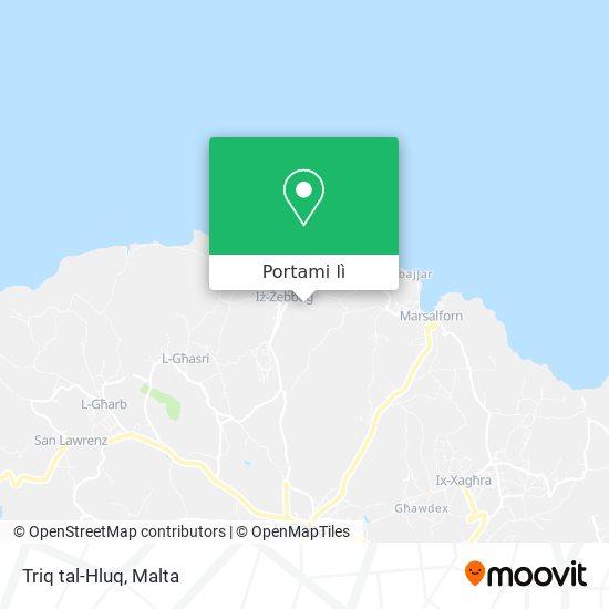 Mappa Triq tal-Hluq