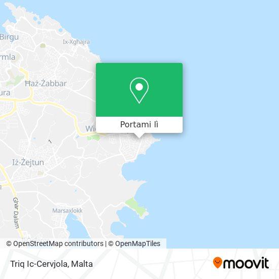 Mappa Triq Ic-Cervjola