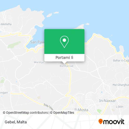 Mappa Gebel