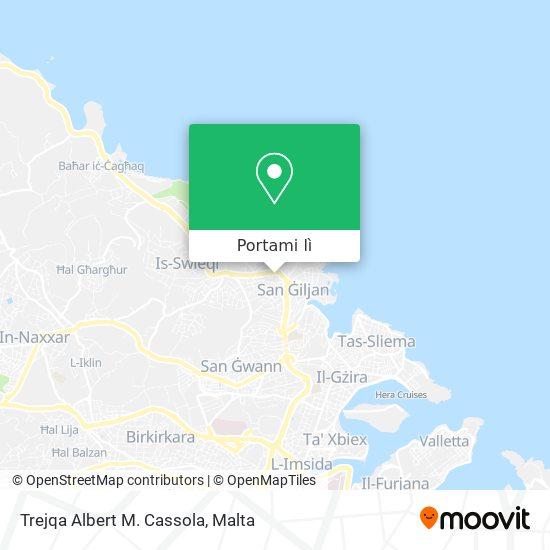 Mappa Trejqa Albert M. Cassola
