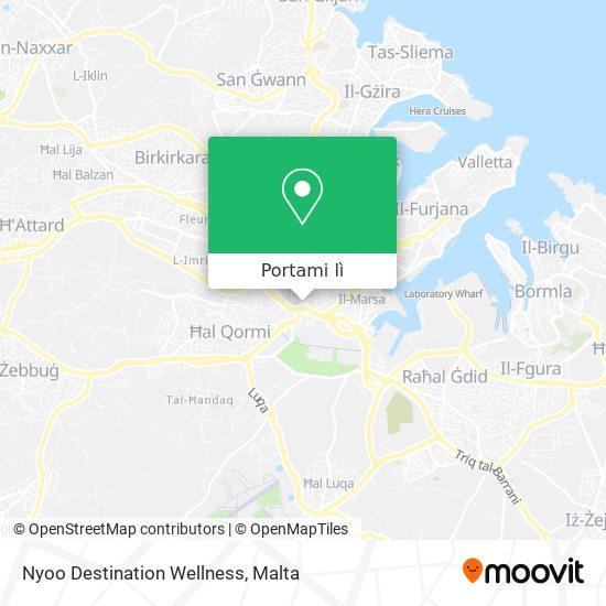 Mappa Nyoo Destination Wellness